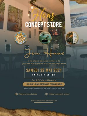 Haas Concept Store - Ouverture